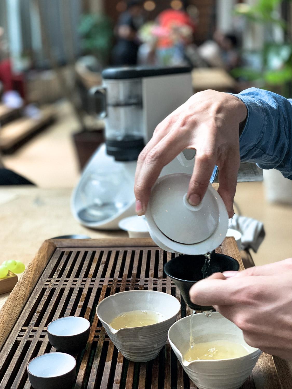 Tee Zubereitung mit Tee Experten