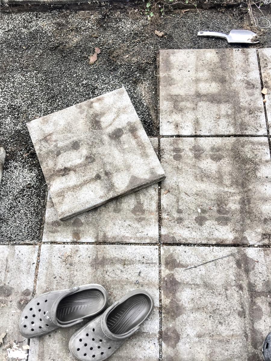 Balkonrenovierung Platten verlegen