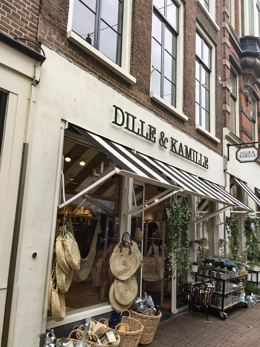 Schaufensterbummel in Haarlem