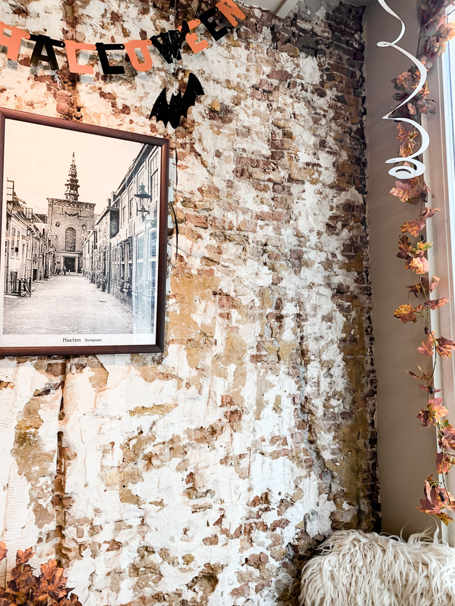 Café in der Haarlemer Innenstadt