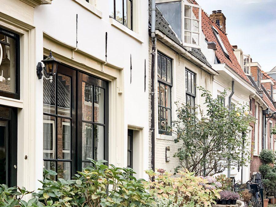 schöne Architektur in Haarlem