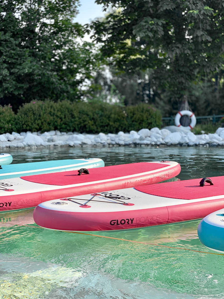 Urlaub in Österreich SUP Yoga Boards