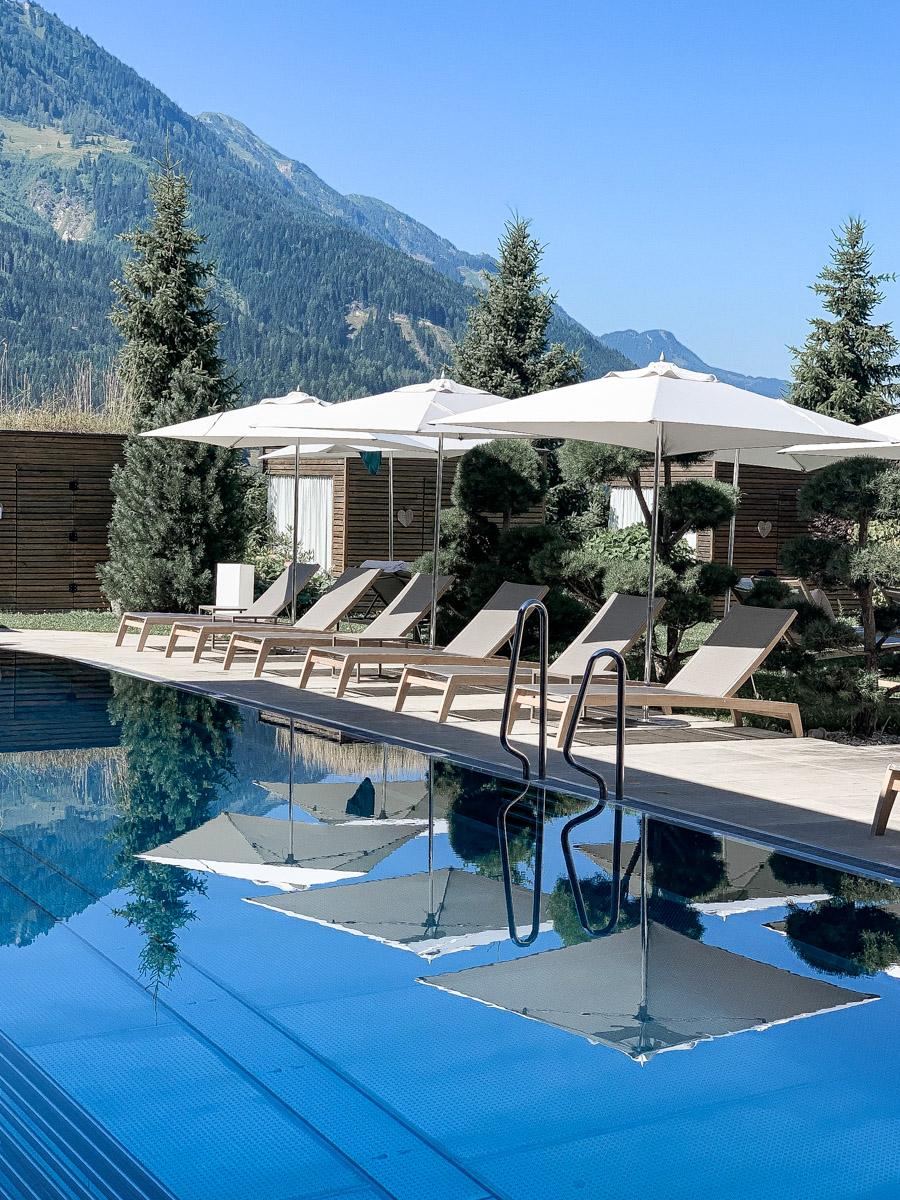 Außenpool Hotel Sonnhof Österreich