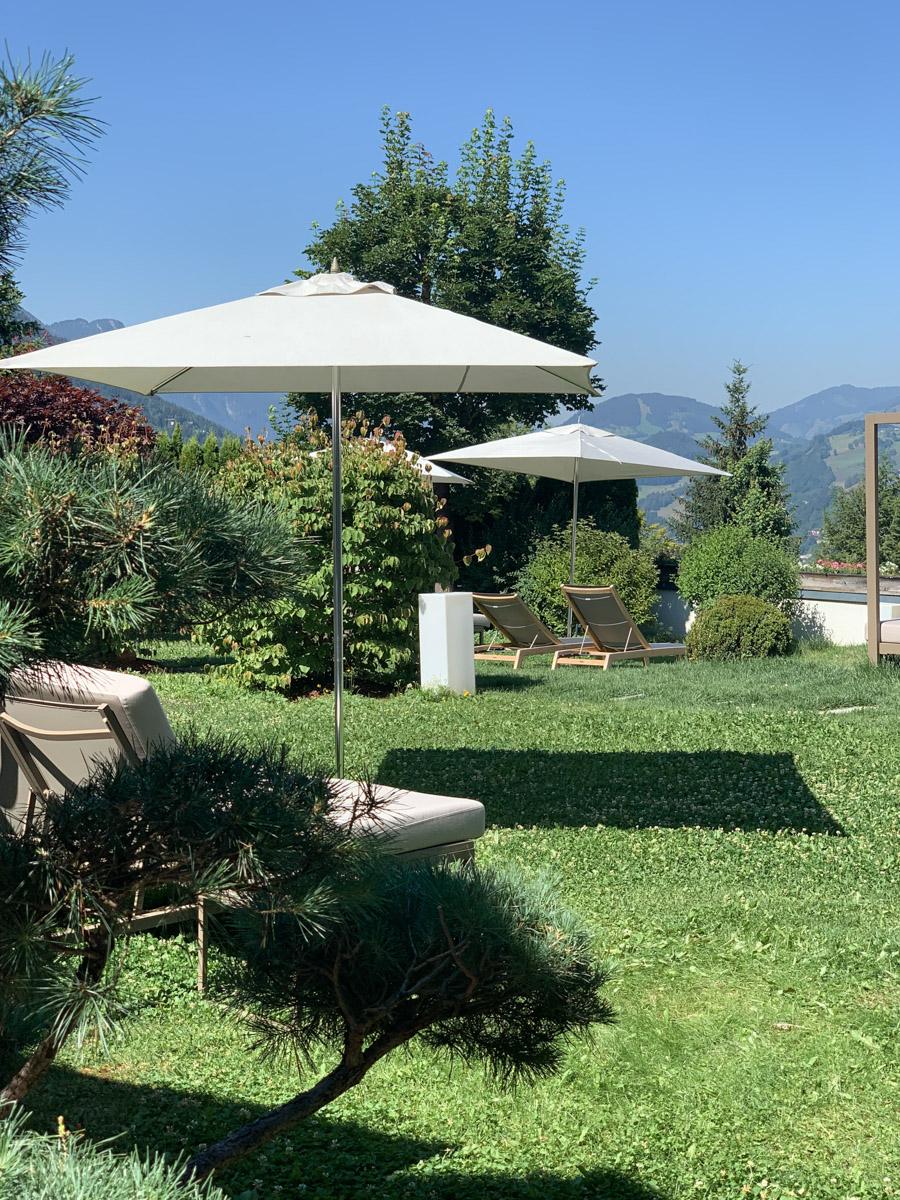Gartenanlage Wellnesshotel Österreich