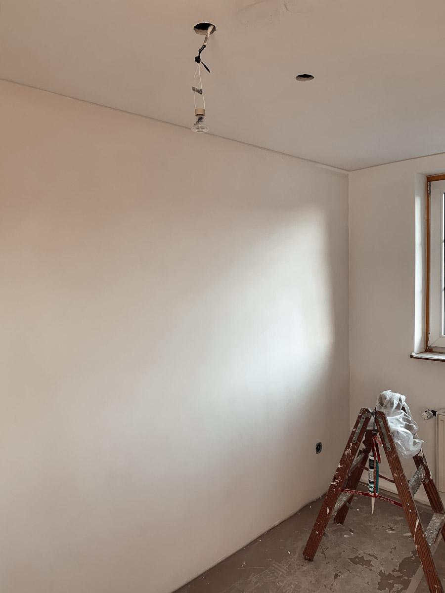 Renovierung Baustelle im Büro