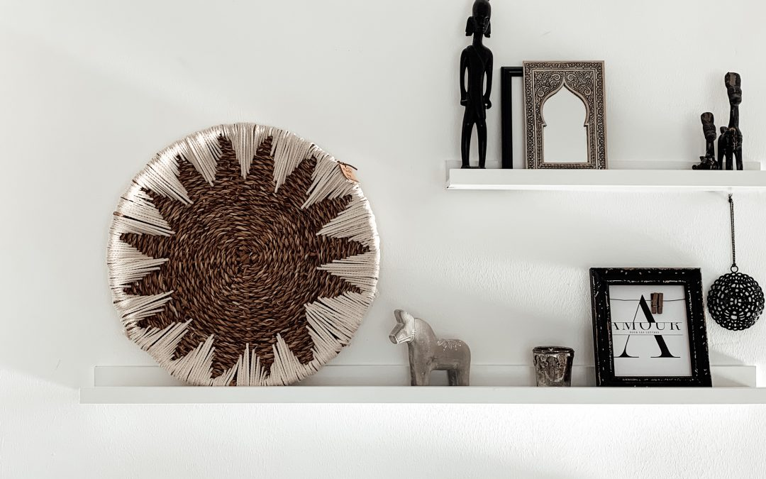 DIY-Korb im Boho Style einfach selbst gemacht