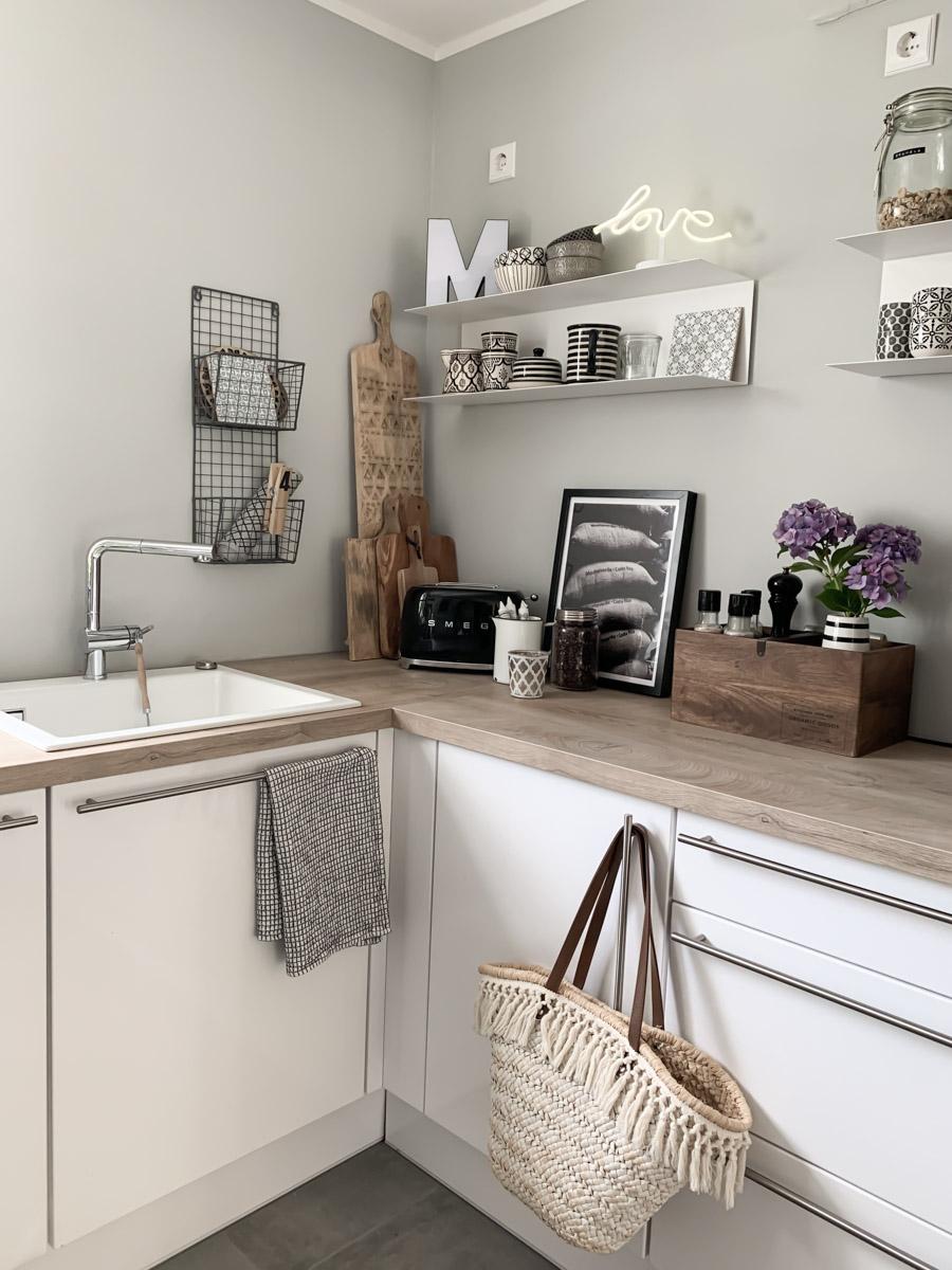 Küchen-Makeover rechte Seite