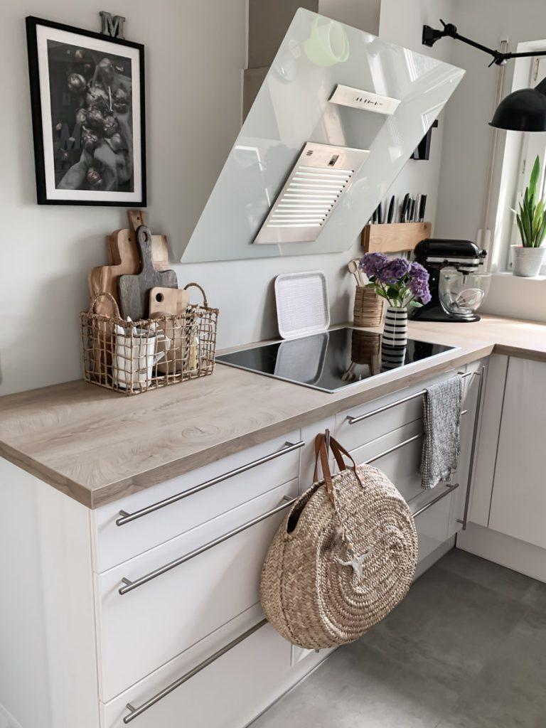 Die Küchenzeile nach der kompletten Renovierung
