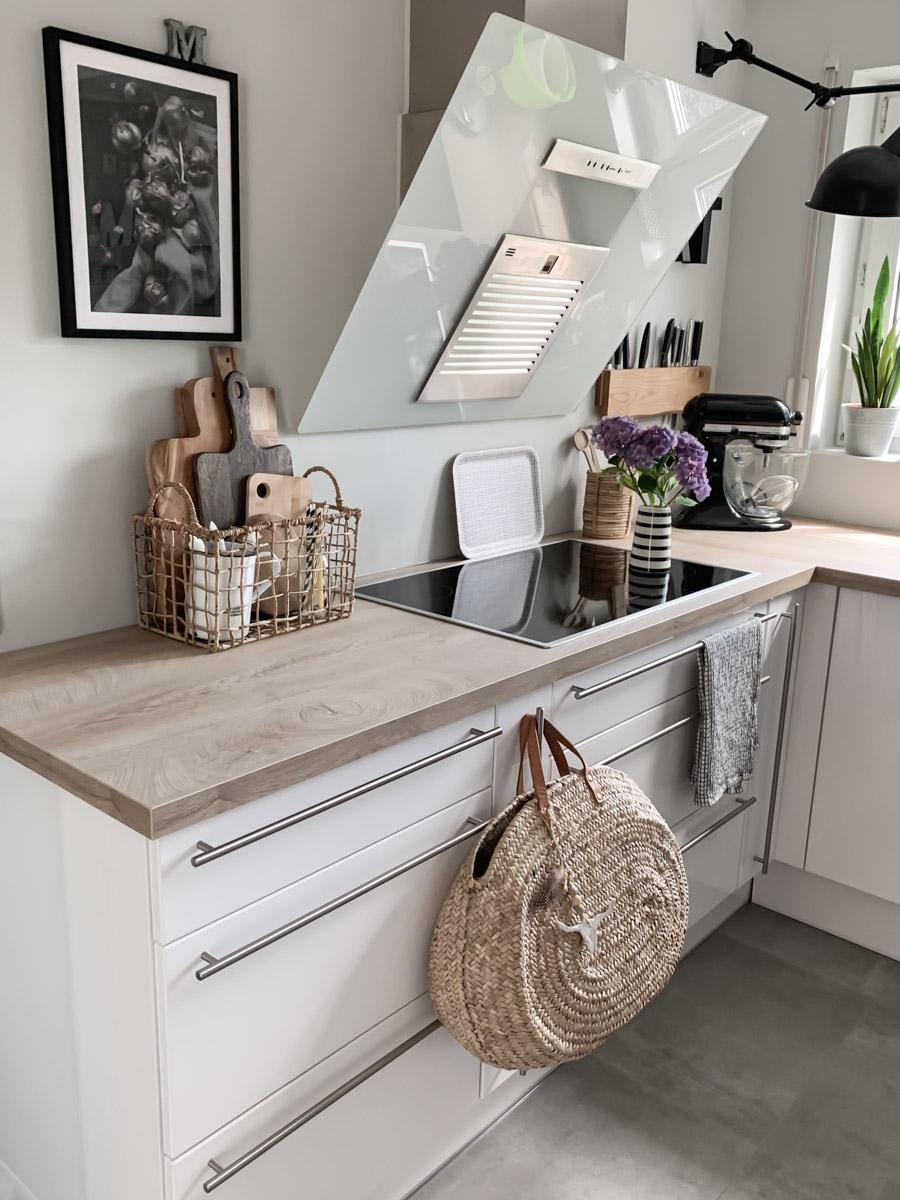 Küchen-Makeover linke Küchenseite