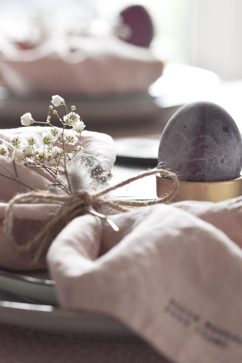 Tischdekoration Ostern Pastell