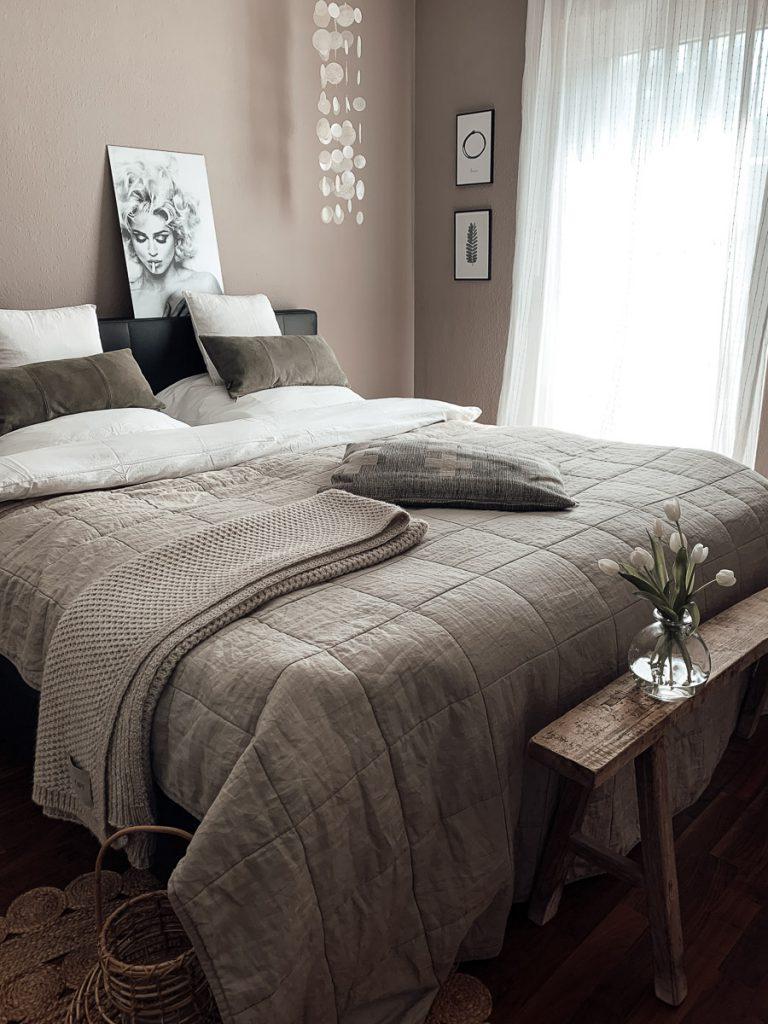 Schlafzimmer Makeover Nachherbild