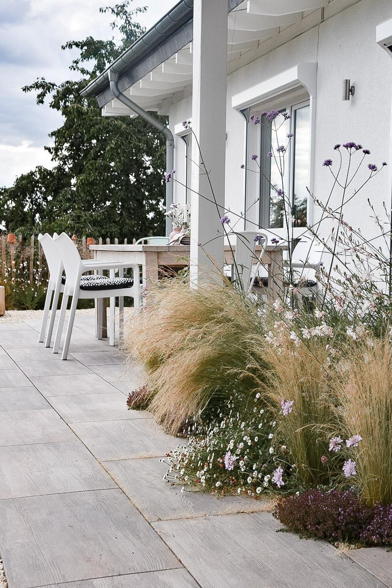 Terrasse in Holzoptik
