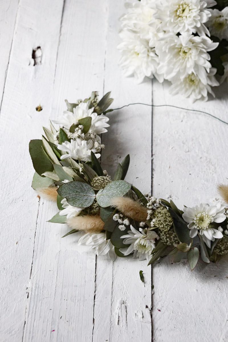 Haarkranz Blumendekoration