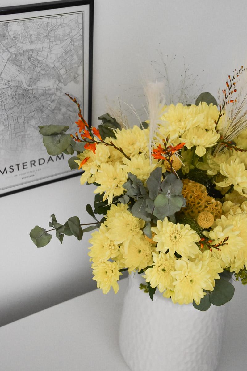Blumenstrauß mit Chrysanthemen