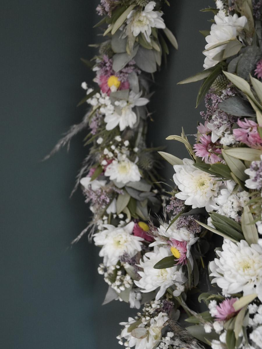 Chrysantheme als Blumendeko
