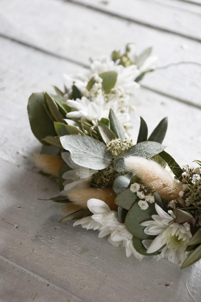 Spray-Chrysantheme Pina Colada trendige Blumendekoration