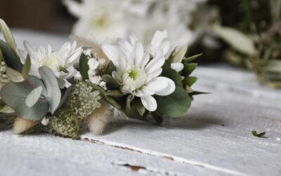 Blumendekoration: stylische Ideen mit der Spray-Chrysantheme Pina Colada