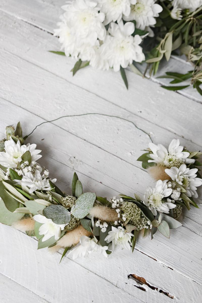 Blumendekoration Blumenkranz