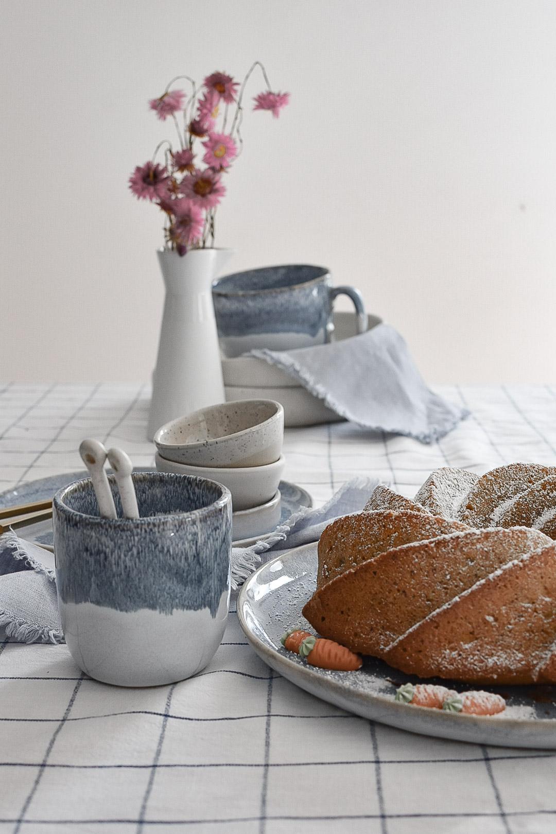 Möhrenkuchen Rezept und Form